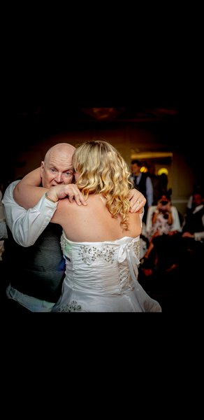 Our special dance I will never forget...love you dad xxx