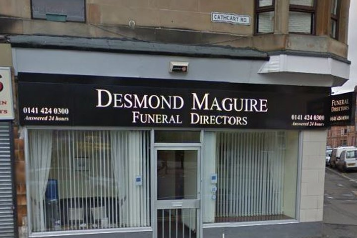 Desmond Maguire Funeral Directors, Crosshill