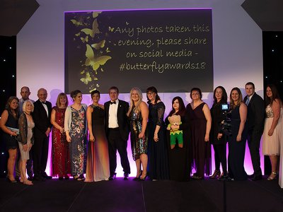 Baby loss survivors and campaigners honoured at Butterfly Awards 2018