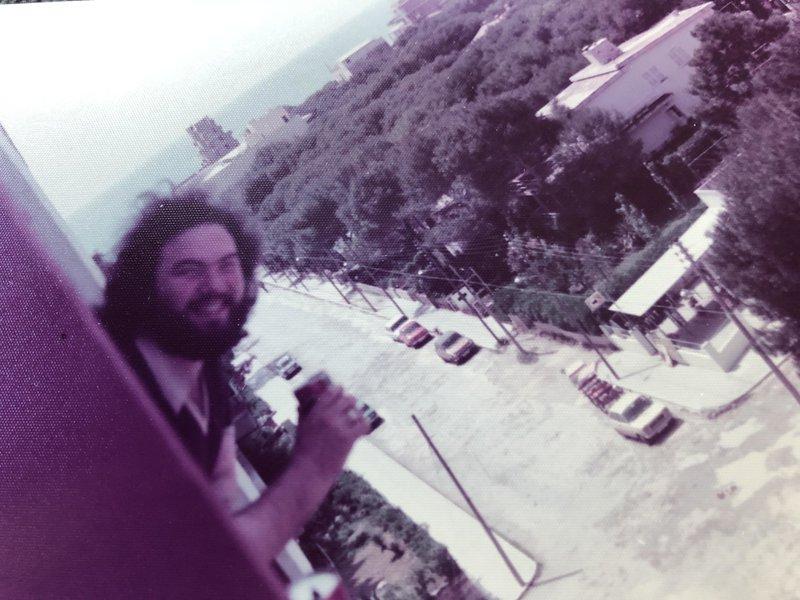 Majorca 1973 /4 watching the Gills on post season tour.