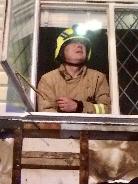Bob's last job on Red Watch, Dartford.