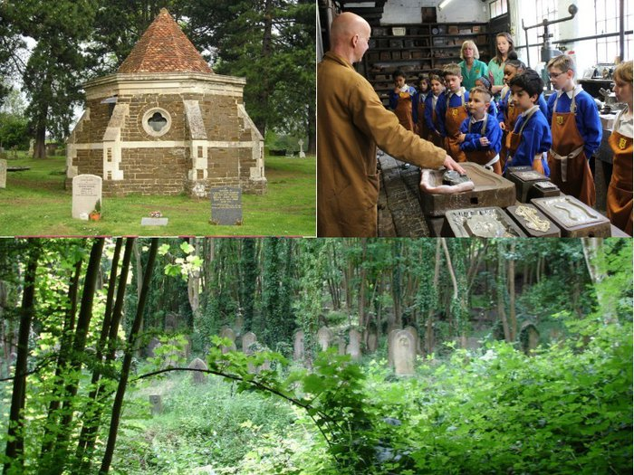 Snapshots of a mausoleum, old coffin factory and Victorian cemetery hosting Heritage Open Days