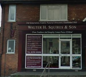 Walter H Squires & Son, Exeter - Whipton