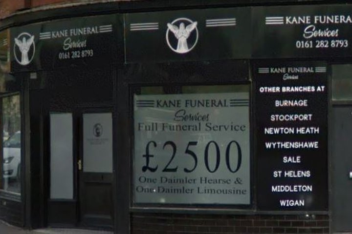 Kane Funeral Services Withington