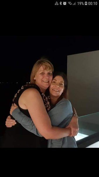 Melanie always had hugs to share. Miss you my Friend.  Till we meet again.       (Oct 2018)