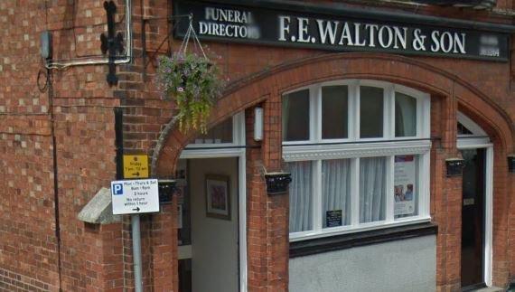 F E Walton & Son Funeral directors, Lincolnshire, funeral director in Lincolnshire