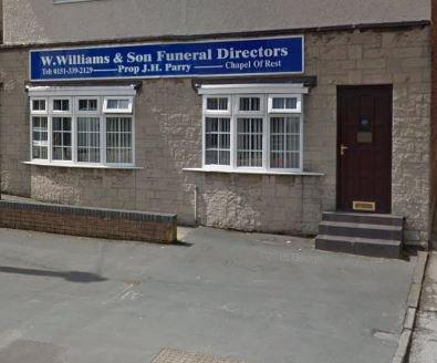 W Williams & Son Funeral Directors, Little Sutton