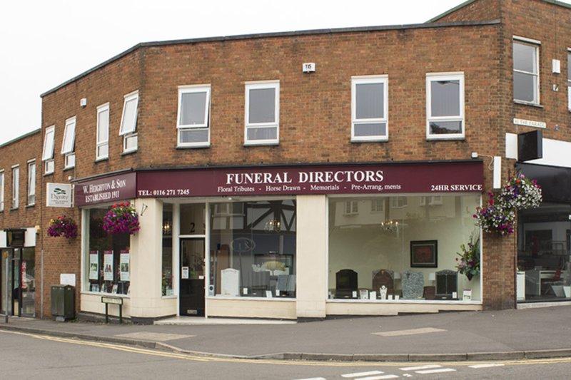 W Heighton & Son Funeral Directors, Oadby