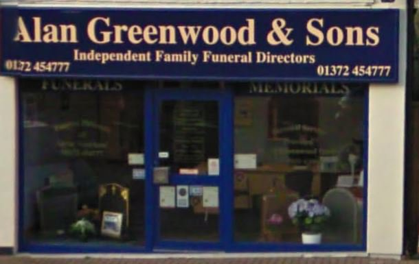 Alan Greenwood & Sons Great Bookham, Surrey, funeral director in Surrey