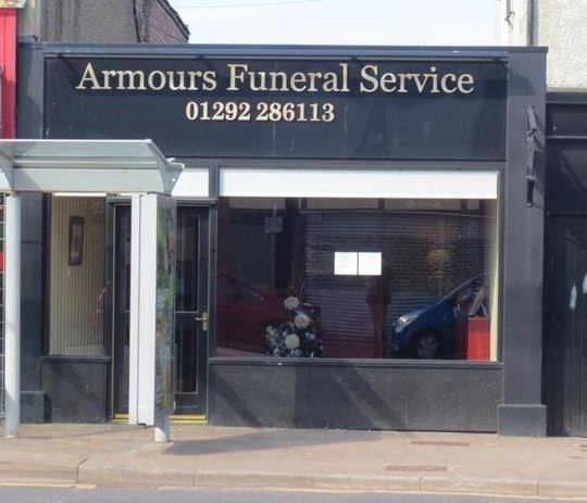 Armours Funeral Service, Ayr