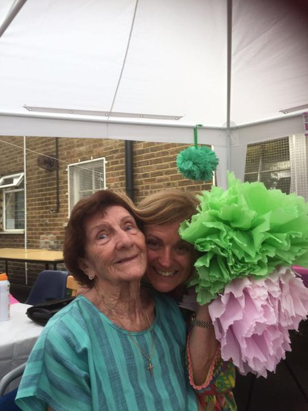 Memories of a lovely afternoon with you dear Eileen xxxx