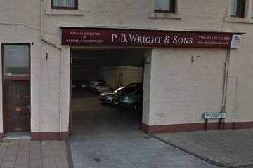 P B Wright & Sons Funeral Directors, Greenock