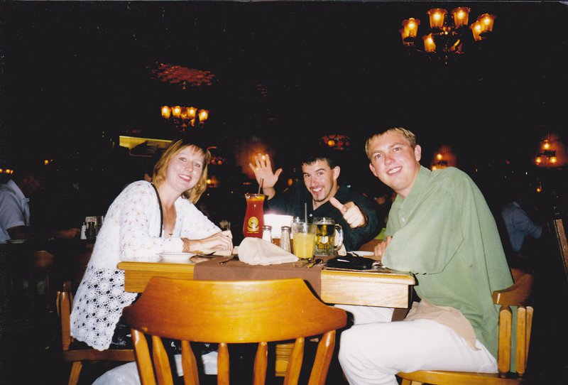 Meal out in Florida 1998