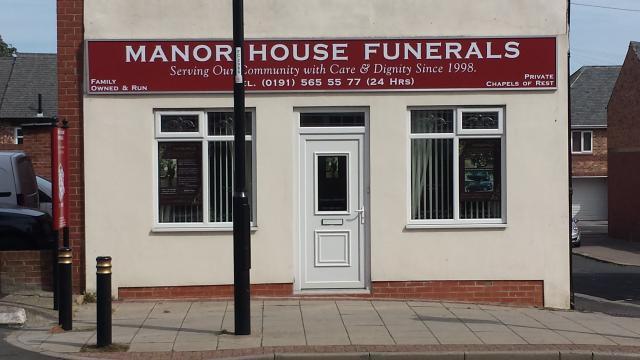 Manor House Funeral Services Ltd, Westholme House  , Sunderland, funeral director in Sunderland