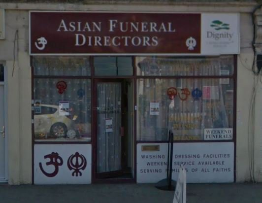 Asian Funeral Directors, Wembley, London, funeral director in London