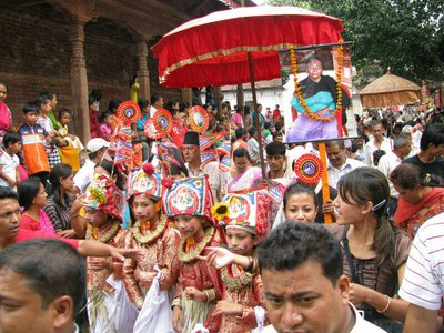 Death around the world: Gaijatra festival, Nepal