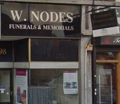 W Nodes Funeral Directors, Southgate