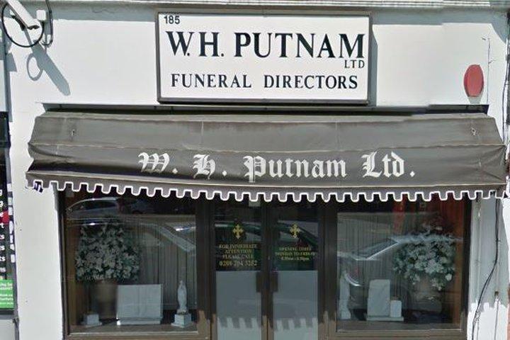 W H Putnam Funeral Directors, Harrow