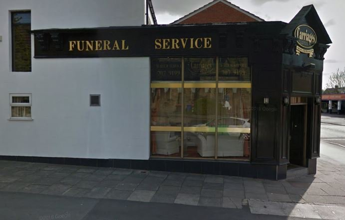 Carriages Funeral Service Ltd, Eccles