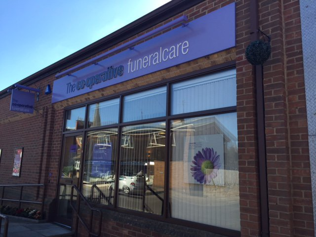 The Co-operative Funeralcare Market Harborough, Leicestershire, funeral director in Leicestershire