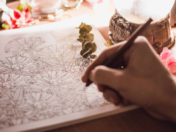 bereavement colouring books