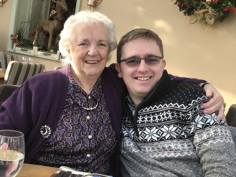 Jonathan and his Gran.