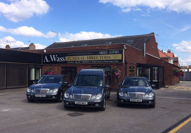A Wass Funeral Directors, Sutton, Nottinghamshire , funeral director in Nottinghamshire