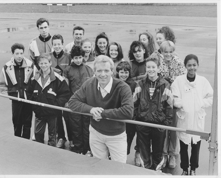 The following photos and articles are in memory of Mike's dedication to High Jump circa 1990.