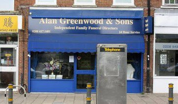 Alan Greenwood & Sons Raynes Park, London, funeral director in London