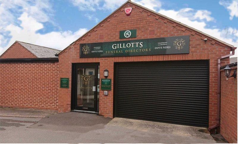 Gillotts Funeral Directors, Heanor, Nottingham, funeral director in Nottingham