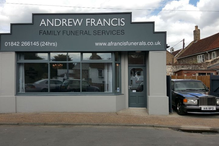 Andrew Francis Funeral Service, Thetford