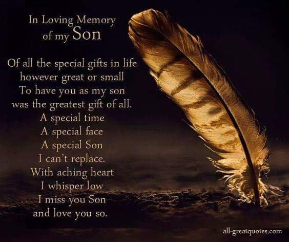 Love you son