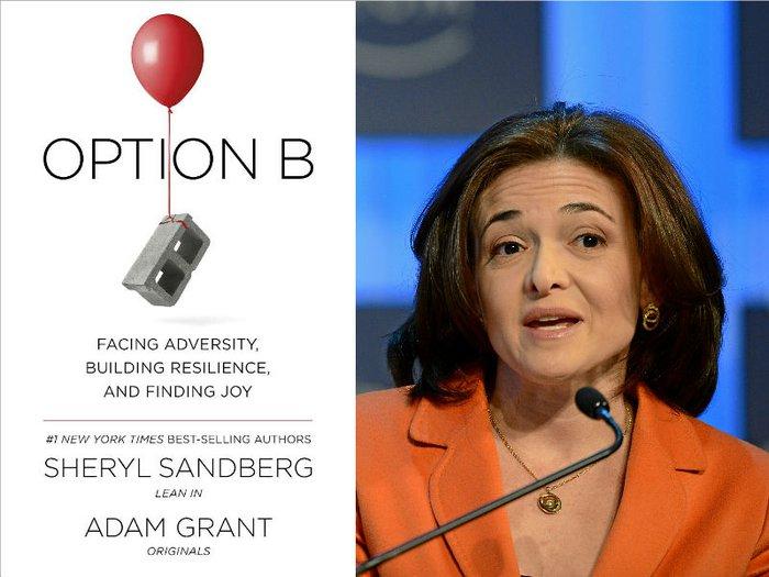 Sheryl Sandberg and her new book, Option B
