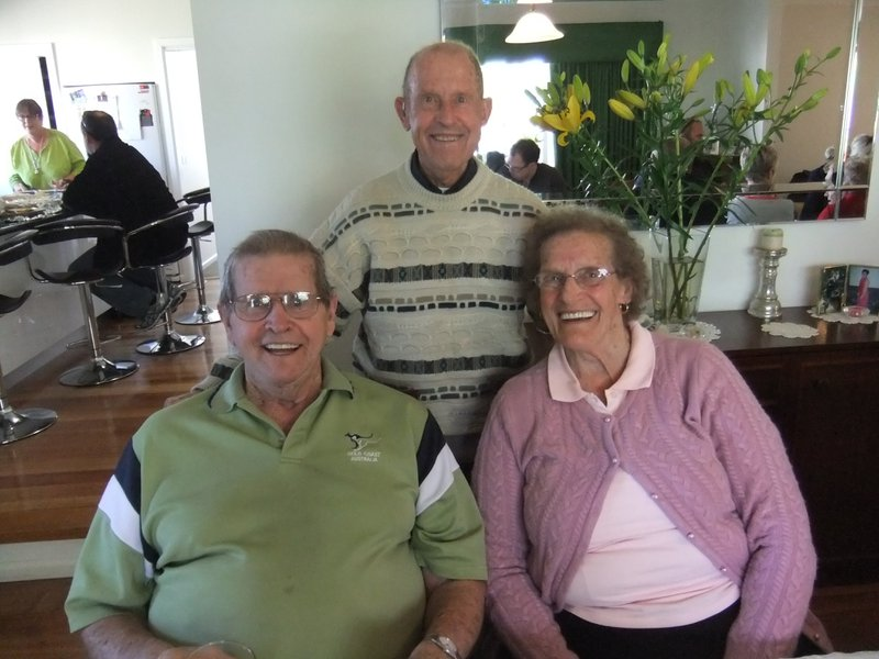 Dad John and Margaret