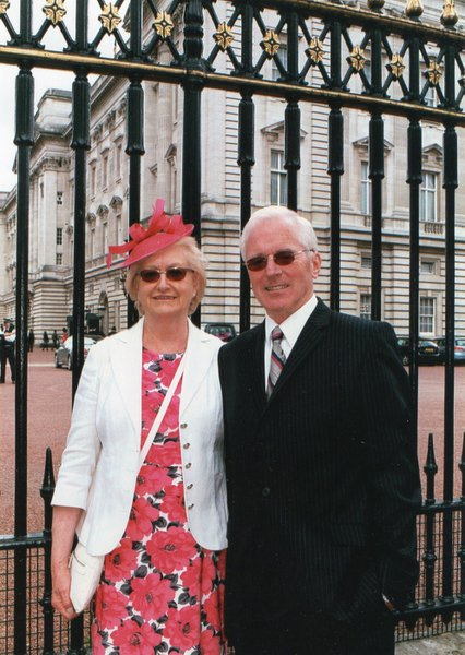 Dolby, Marg & Mike 2015 Buckingham Palace Recognition.