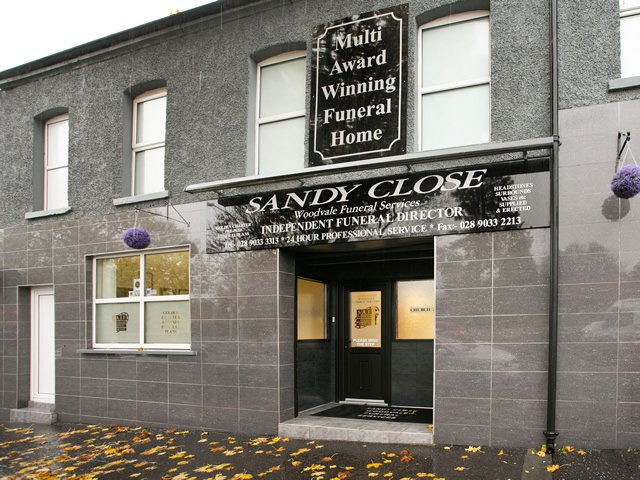 Sandy Close Funeral Services, Shankill Road, Belfast, County Antrim, funeral director in County Antrim