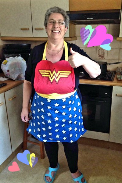 Hils....I can't think of you without a smile on my face and an ache in my heart 💔 'Grief is the last act of love, where there is deep grief......there was great love'                   Fly high Wonder Woman 💞Till we meet again 💘