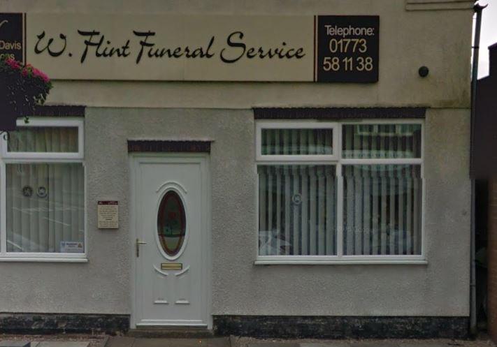 W Flint Funeral Service, Derbyshire, funeral director in Derbyshire