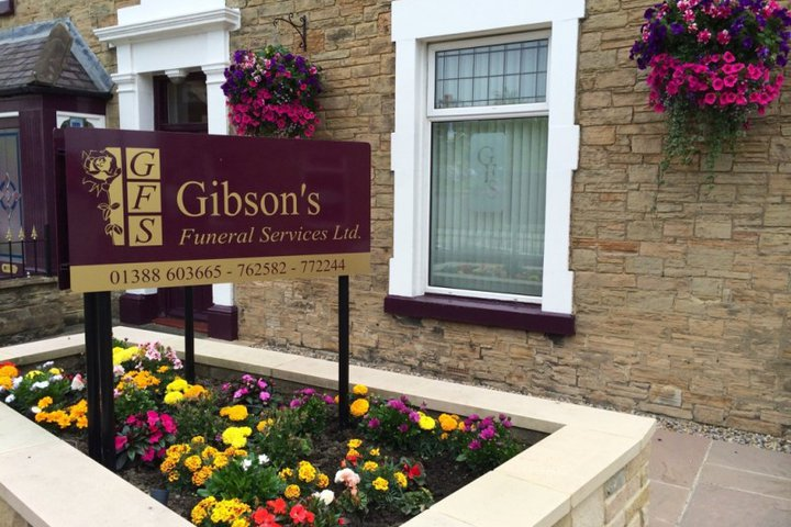 Gibsons Funeral Services Ltd, Shildon