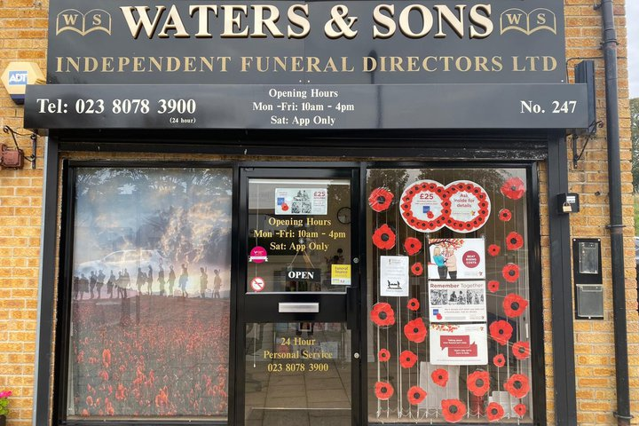 Waters & Sons Independent Funeral Directors Ltd, Aldermoor
