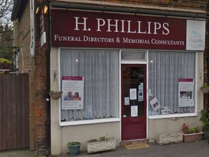 H Phillips Funeral Directors, London, funeral director in London