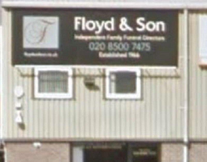 Floyd & Son Funeral Directors Ltd, Ilford