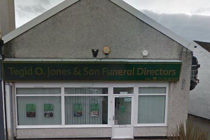 Tegid O Jones Funeralcare, Prestatyn