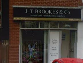 J T Brookes & Co, Stourbridge