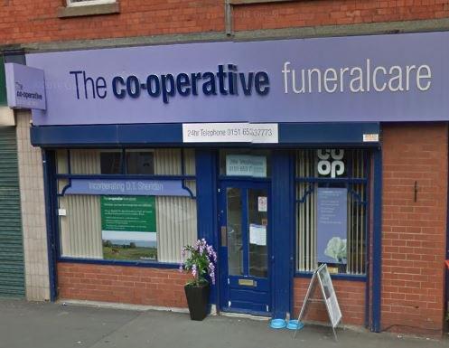 The Co-operative Funeralcare, Birkenhead Laird St