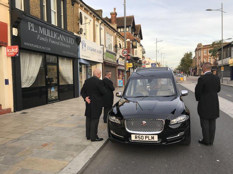 P L Mulligan Funeral Directors, Bexleyheath, Kent, funeral director in Kent