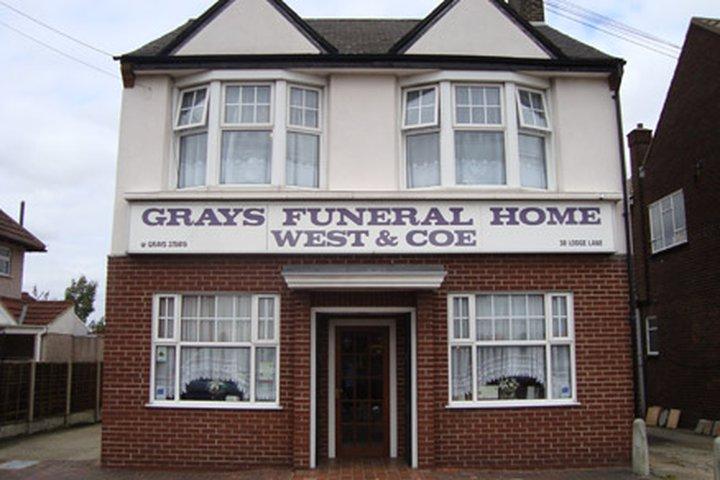 West & Coe Funeral Directors, Grays
