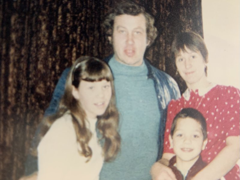 Me, Paul, with our Mum and Dad