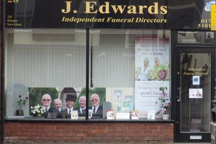 J Edwards Independent Funeral Directors, Sudbury