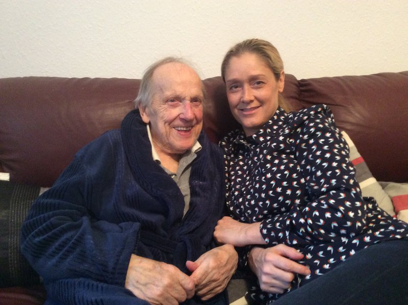 Me and my Granda. Gone but not forgotten.💔